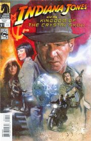 Indiana Jones Kingdom Of The Crystal Skull #1 Fleming Cover A (2008) Dark Horse comic book
